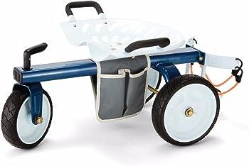 Gorilla Carts Rolling Garden Scooter