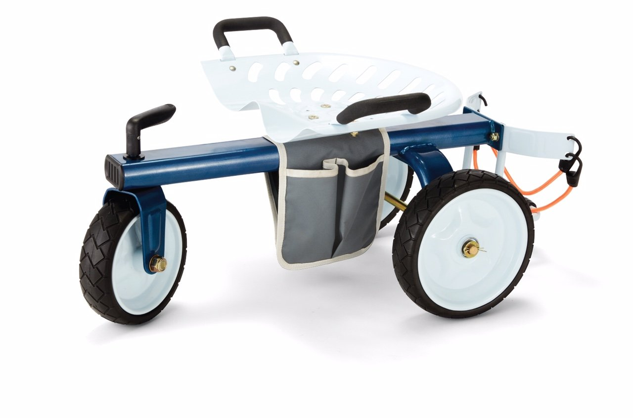 Gorilla Carts GCG-RGS Rolling Garden Scooter by Gorilla Carts