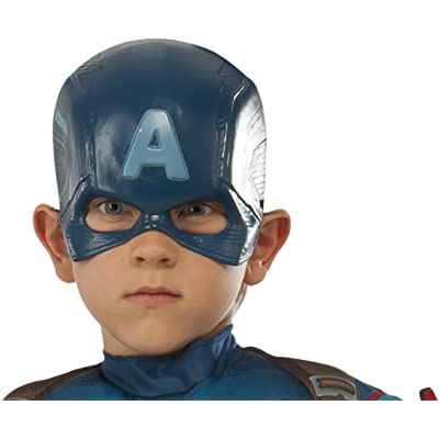 Avengers 2 Age of Ultron Child's Captain America Molded Mask: Toys & Games