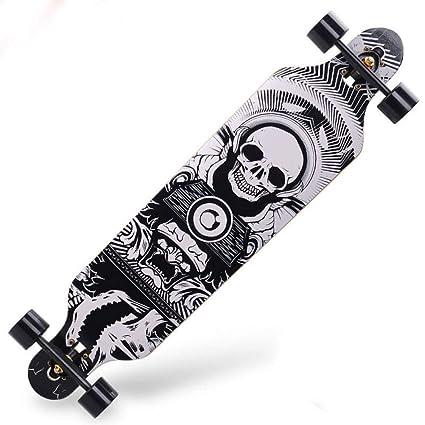 GDYYZYQ Tabla De Skate Profesional Longboard Maple Cruiser ...