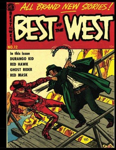 Download Best of the West #12: Golden Age Western-Frontier Comic 1954 ebook