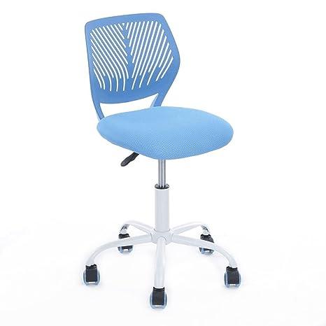 Aingoo Schreibtischstuhl Bürostuhl Kinderstuhl Jugenddrehstuhl  Kinderdrehstuhl Ergonomie Stuhl höhenverstellbar Drehstuhl für Mädchen  Kinder Jugend ...