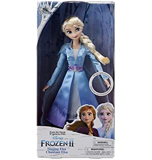 Frozen 2 - Muñeca Cantarina Elsa (Hasbro E6852TG0): Amazon.es ...