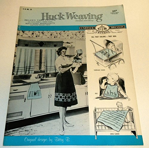 Huck Weaving Swedish Embroidery Number 25 -