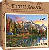 jigsaw puzzle fishing - MasterPieces Time Away Eagle View - Fishing 1000 Piece Jigsaw Puzzle by Dominic Davidson
