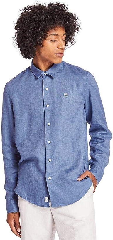 Timberland River Linen Camisa para Hombre Azul Claro TB0A1NW8X78: Amazon.es: Ropa y accesorios