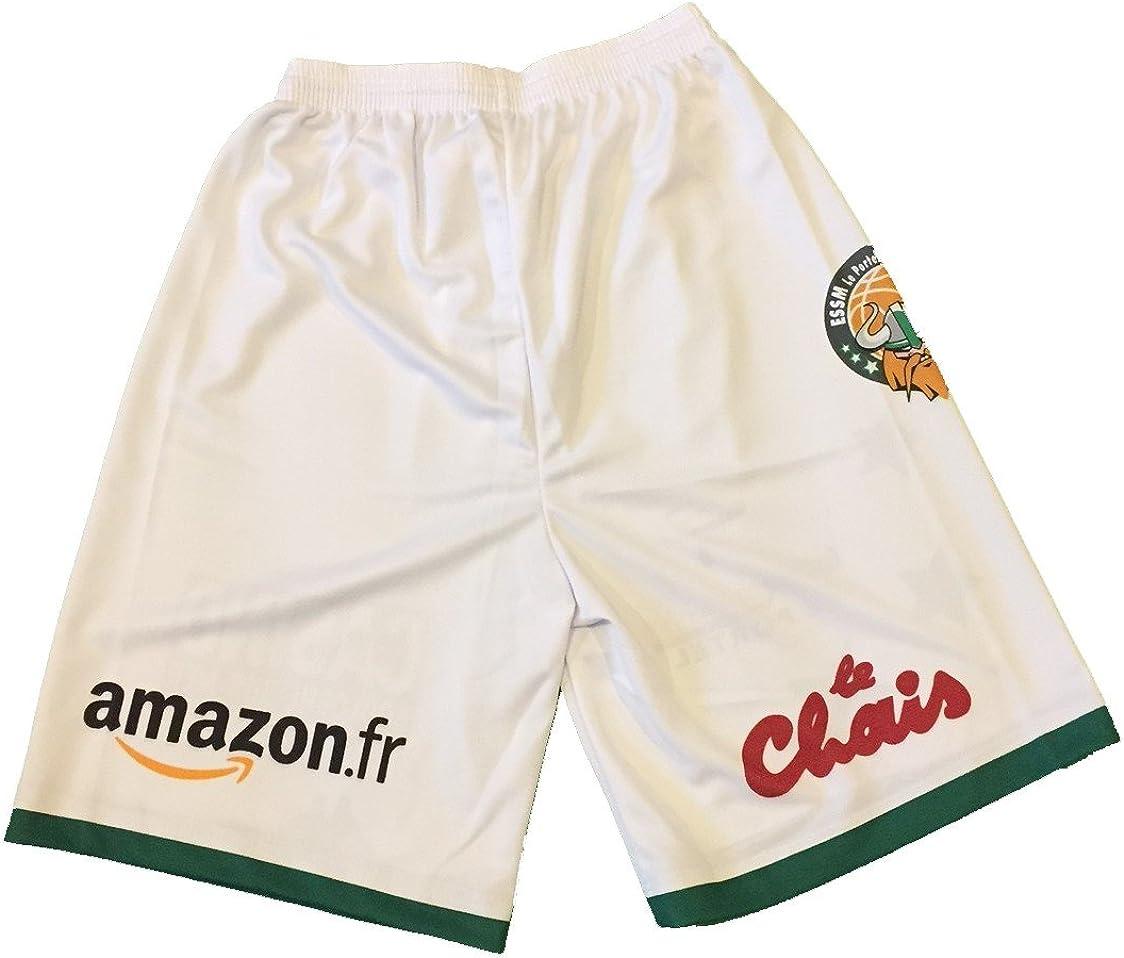 Kappa Baloncesto essm Le Portel Oficial hogar/ /Pantalones Cortos de Baloncesto para Hombre