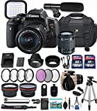 Cheap Canon EOS Rebel T6i 24.2 MP DSLR Camera with Canon EF-S 18-55mm f/3.5-5.6 is STM Lens + 32GB & 16GB Memory Cards + Professional Kit + Accessory Bundle (Professional Video Kit)
