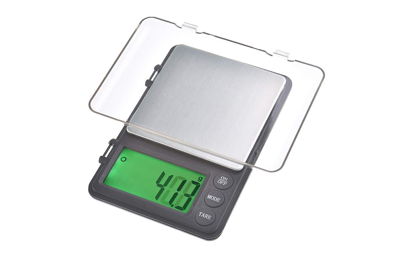 Quantum Abacus Bilancia digitale di precisione/pesalettere / bilancina dell'orafo/bilancetta di precisione/bilancia tascabile, 3kg / 0,1gr, Mod. 8258-3kg0.1