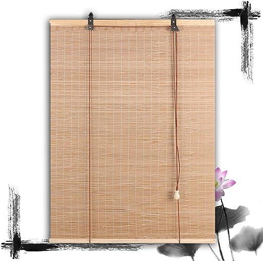 HAIPENG-Persianas Estores De Bambú Enrollable Ventanas con Manos ...
