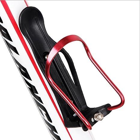 GXWFUI Bicicleta Portabidon De Agua para Bicicleta, Aluminio ...
