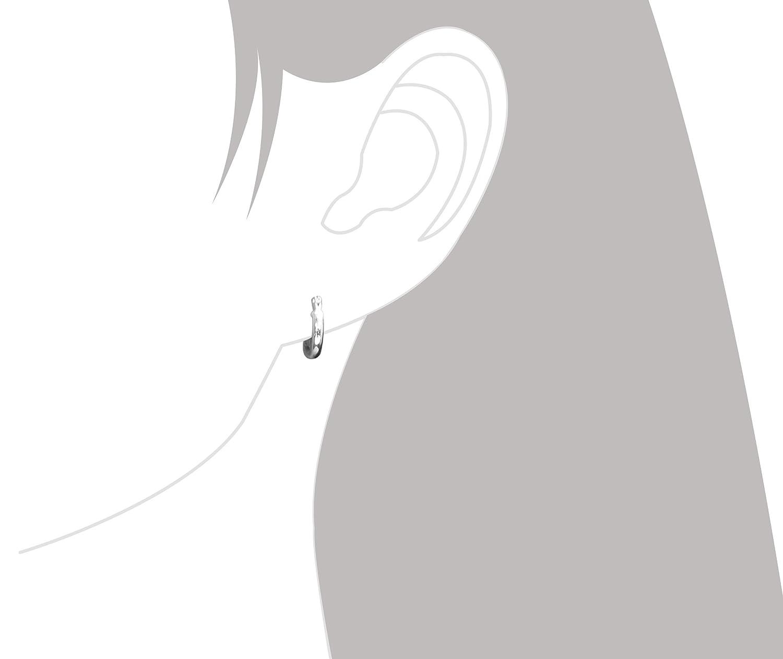 Sterling Silver Tiny Huggies Earrings Image 3