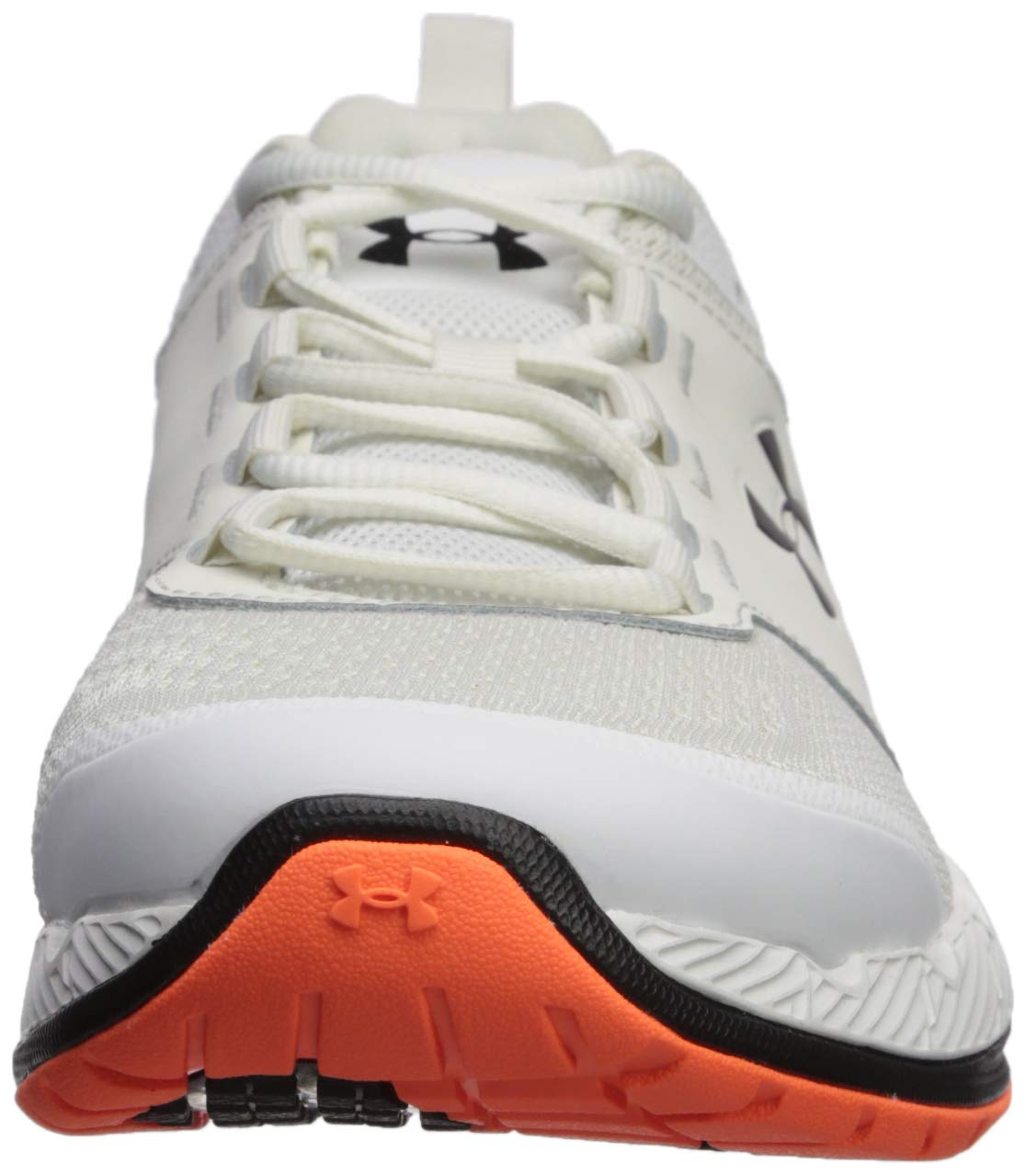 Under Armour Men's Commit TR EX Sneaker, Onyx White (108)/Black, 7 M US by Under Armour (Image #4)