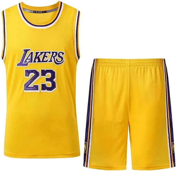 Ingen NBA Baloncesto Camisetas - Maillots de Baloncesto Bulls Jordan 23,Lakers James 23,Warriors Curry30, Uniforme de Baloncesto Niños Pantalones Cortos y Tops: Amazon.es: Deportes y aire libre