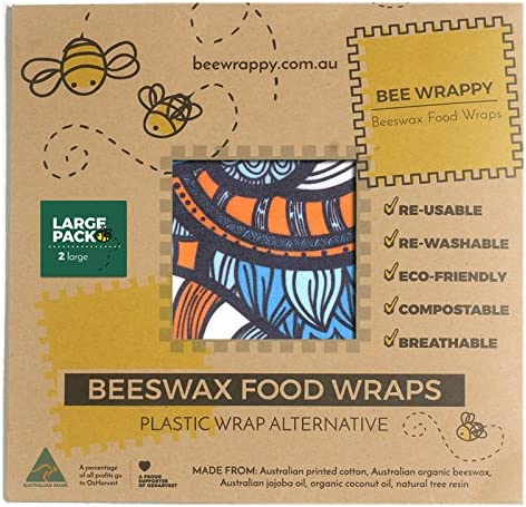 S, S, M, M, L, L, XL, XL PACK family of 8 bees-wrap