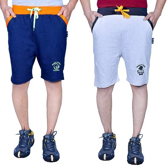 Ezee Sleeves Combo Cotton Boxers of 2 Men's Boxer Shorts at amazon