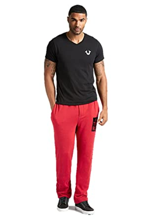 77cd497e06 Amazon.com: True Religion Brand Jeans Men's Basic Sweatpants, Medium ...