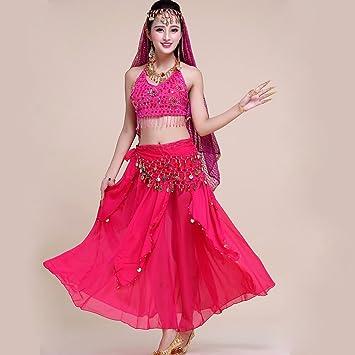 dd0f8640c Xueyanwei Professional Lady Belly Dance Costumes Sets Indian Dance ...