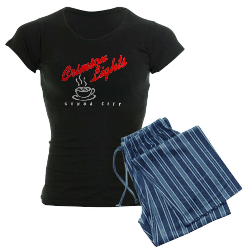 CafePress - Crimson Lights Logo 02 - Womens Pajama Set