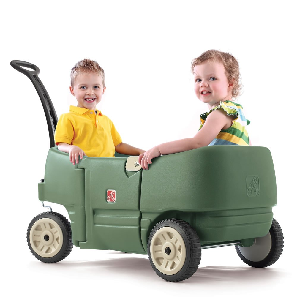 Step2 Wagon for Two Plus (Willow Green)