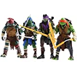 Tortugas Ninja - Figura articuladas Don [Importado]: Amazon ...
