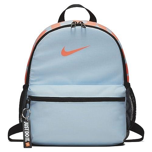 Nike Y NK BRSLA JDI Mini BKPK, Mochila Unisex Infantil, Multicolor (Cobalt Tint/Black/or) 15x24x45 cm (W x H x L): Amazon.es: Zapatos y complementos