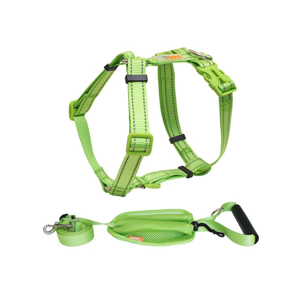 4  SDSADDSD Pet Leash With Chest Strap Small Dog Strap Vest Traction Rope Dog Leash Pet Outdoor Products (color   2 , Size   S)