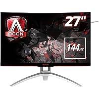Monitor Gamer LED 27'' AOC 144Hz 4ms Tela Curva Agon AG272FCX