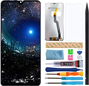 Compatible Samsung Galaxy A10 Screen Replacement, XR MARKET LCD Display Touch Digitizer Screen Assembly Part 6.2 Inch with Screen Protector, Tools