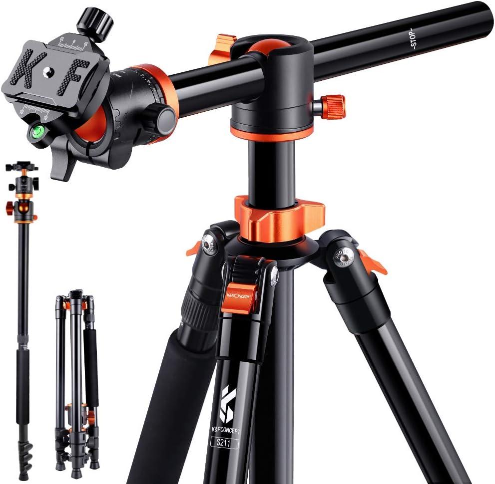 K F Concept 183cm Stativ S211 Kamera Stativ Mit 90 Kamera