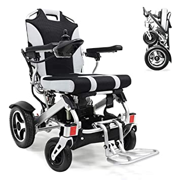 Amazon.com: Silla de ruedas GX-silla de ruedas eléctrica ...
