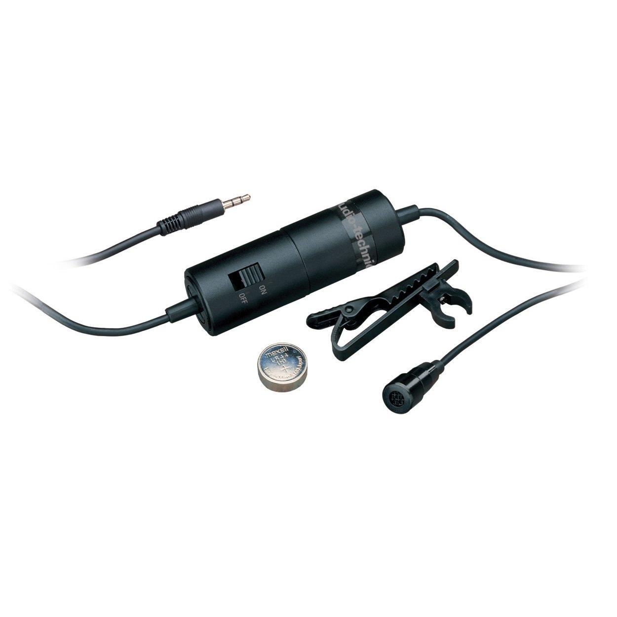 Audio-Technica ATR3350 Omnidirectional Lapel Microphone