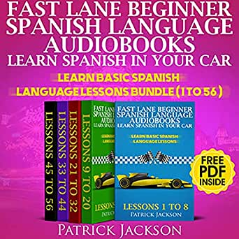 Amazon com: Fast Lane Beginner Spanish Language Audiobooks