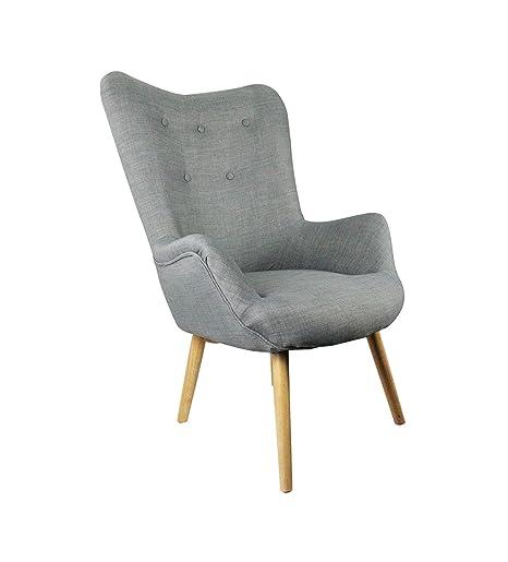Poltrona vintage in stile scandinavo, ultra comoda, modello Achille ...