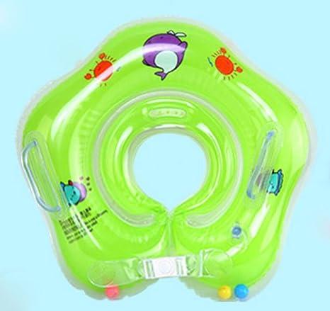 OOFWY Nadar anillo, inflables ajustables niños, niño del flotador del cuello Traje anillo de
