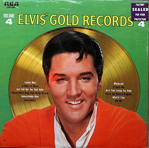 Elvis' Gold Records: Volume 4