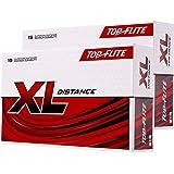 2pk Top Flite XL Distance Golf Balls - White - 30 Balls