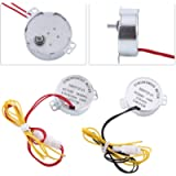 Jadpes Synchronous Egg Turner Motor, 2 Types 110/220V AC Chicken Egg Turner Rotator Incubator Motor with Connector for…