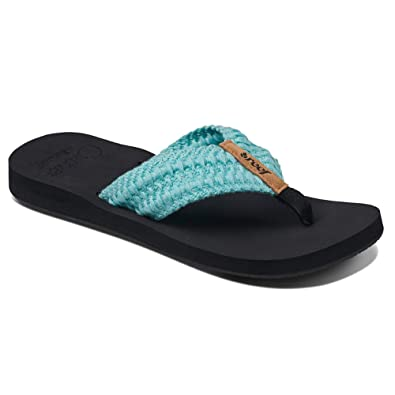 2ce6aa1fd Amazon.com  Reef Women s Cushion Threads Flip-Flop  Shoes