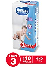 Huggies Pañal Desechable Ultraconfort para Niño, Etapa 3, 40 Cuentas