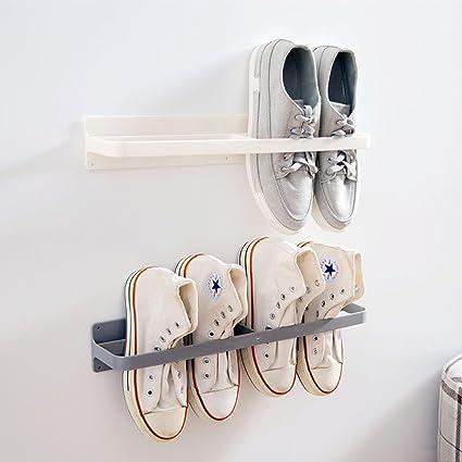 Amazoncom Esdella Shoes Rack Organizer Mounted Wall Storage Shelf