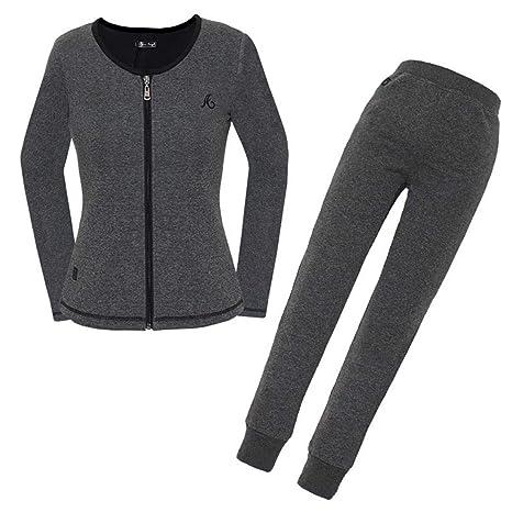 Set Largos Larga Y Usb Remera Eléctrico Pantalones Térmica De Conjunto Calefactable Ropa Manga rwq1rv