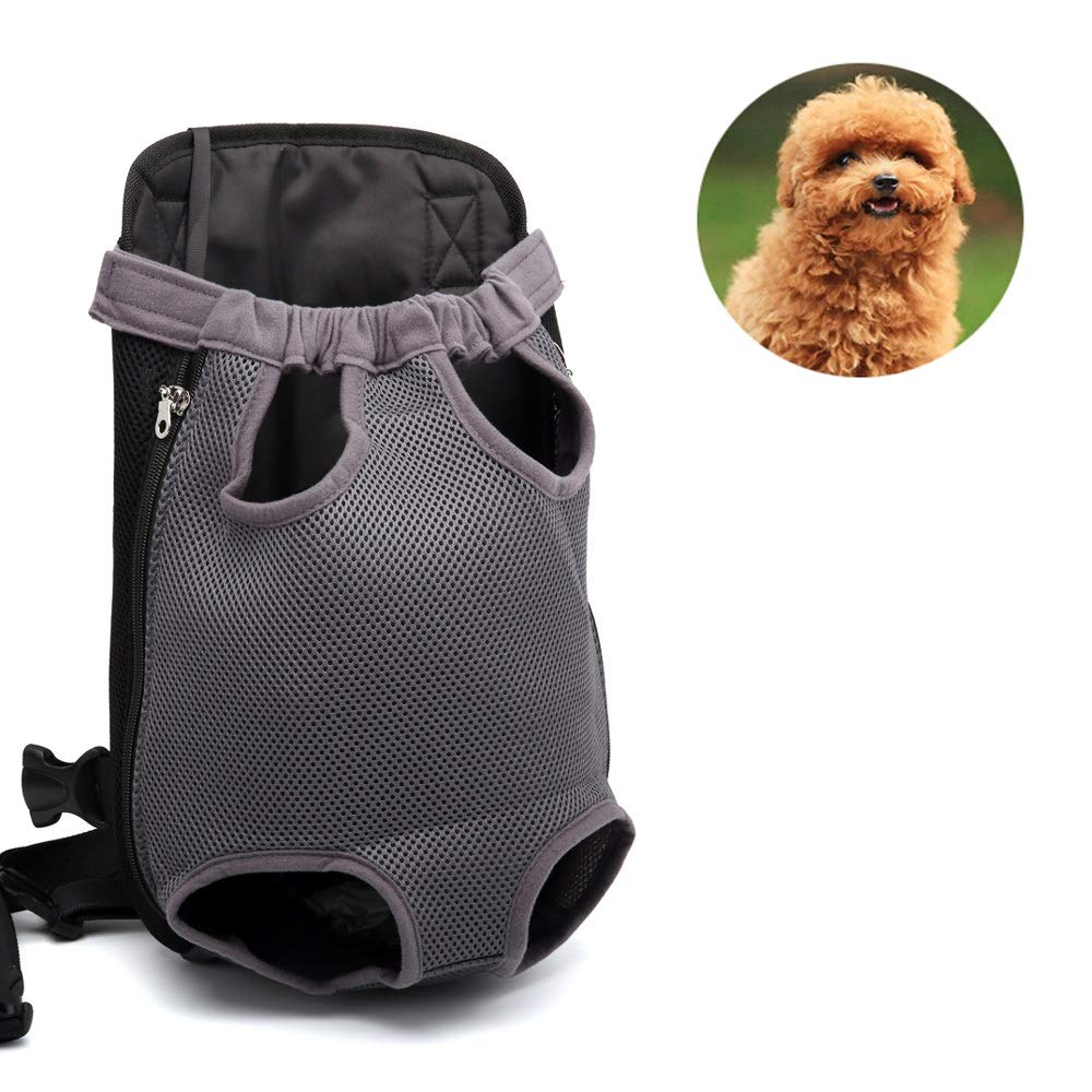 Large Pet Carrier Legs Out Front Pet Carrier Backpack Adjustable for Traveling Hiking Camping Outdoor (Size   L)