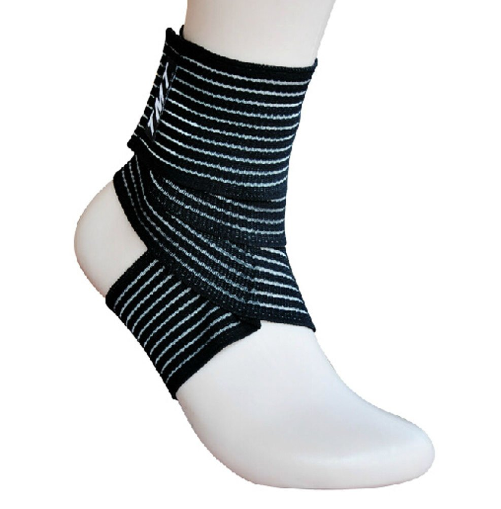 1 Pair Breathable Men Women Ankle Foot Brace Support Pad Free Size Blancho Bedding