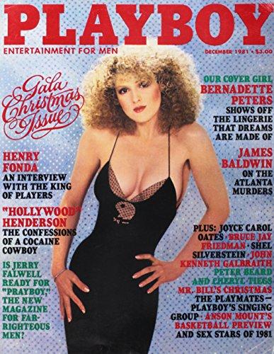 PLAYBOY ----DECEMBER 1981 ISSUE (BERNADETTE PETERS COVER)
