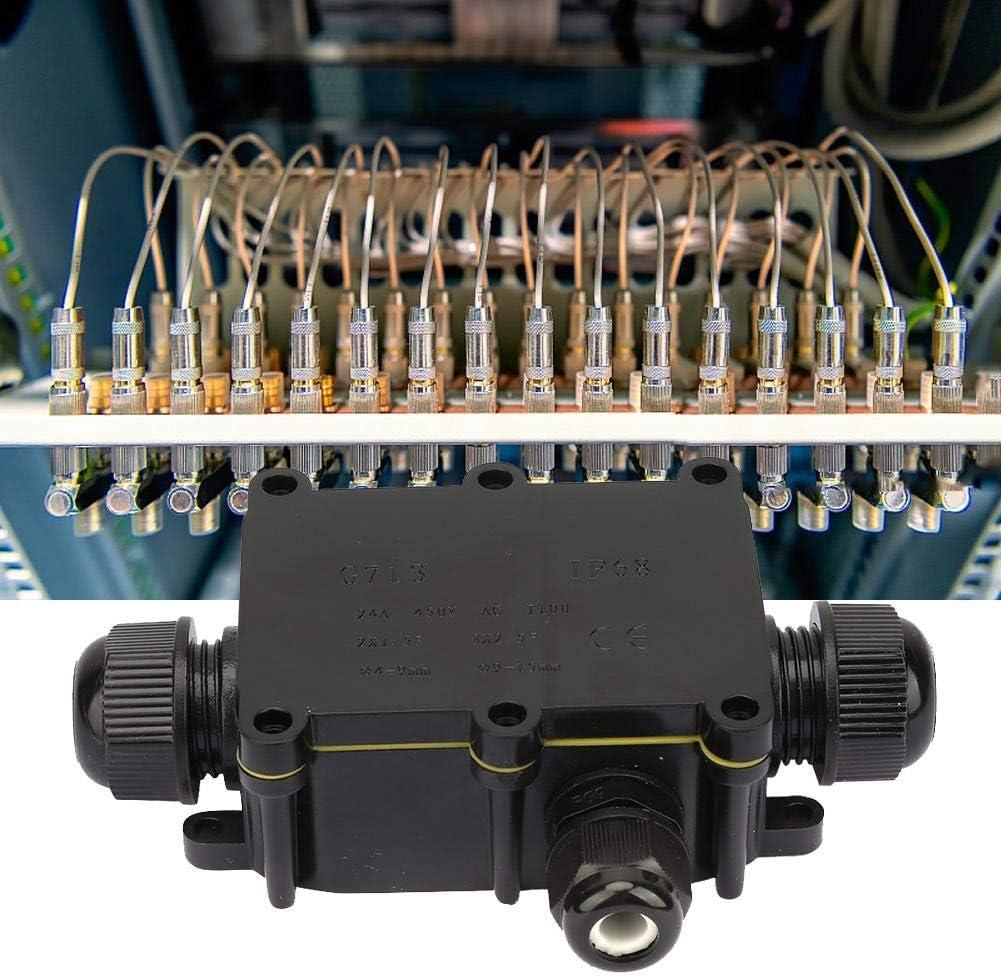 A Doppio Senso Scatola di Giunzione Scatola di plastica Impermeabile Custodia in plastica Ip65 Scatola di Giunzione Esterna Scatola di Giunzione elettrica Cavo Morsettiera