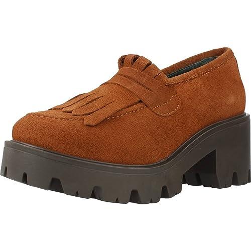 Mocasines para Mujer, Color marrón, Marca YELLOW, Modelo Mocasines para Mujer YELLOW Calabria Marrón: Amazon.es: Zapatos y complementos