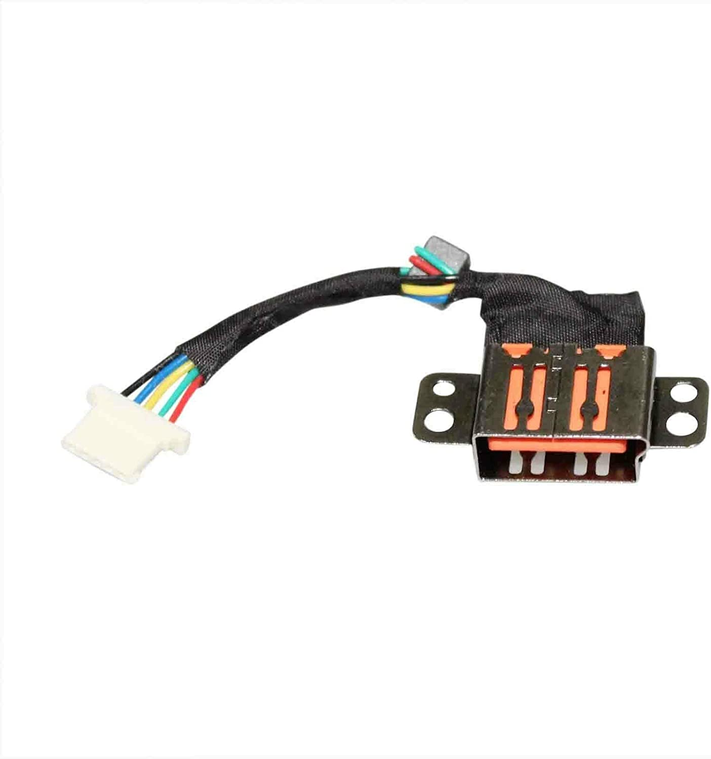 GinTai DC Power Jack Harness Cable Connector Socket Plug Port Replacement for Lenovo Yoga 700-11ISK 80QE