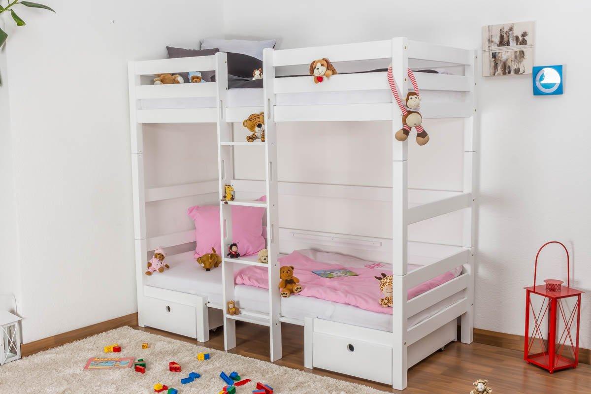 Etagenbett Umbaubar : Kinderbett etagenbett funktionsbett tim umbaubar zu einem