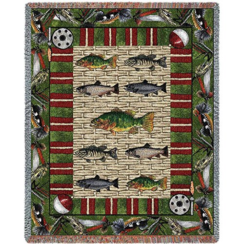 Pure Country Weavers Fishing Tapestry product image